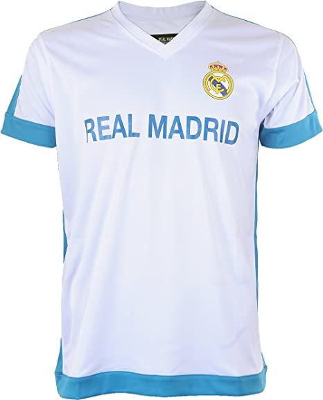 Real Madrid Rma-sa-3200 BC/B - Camiseta de Manga Corta Unisex: Amazon.es: Deportes y aire libre