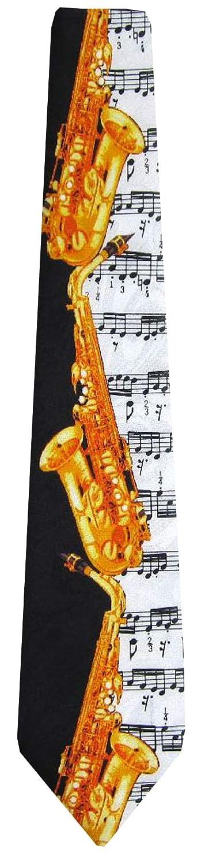 BUYYOURTIES WI-319 - Corbata de trompeta para hombre, color negro ...
