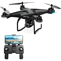 Holy Stone HS120D FPV Drone with Camera for Adults 1080p HD Live Video and GPS Return Home & Follow Me Selfie Functions
