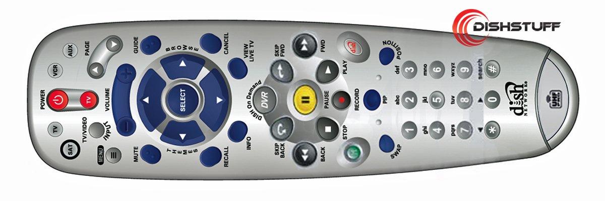 Amazon Dish Network Platinum 80 UHF Remote 511 811 921 Electronics