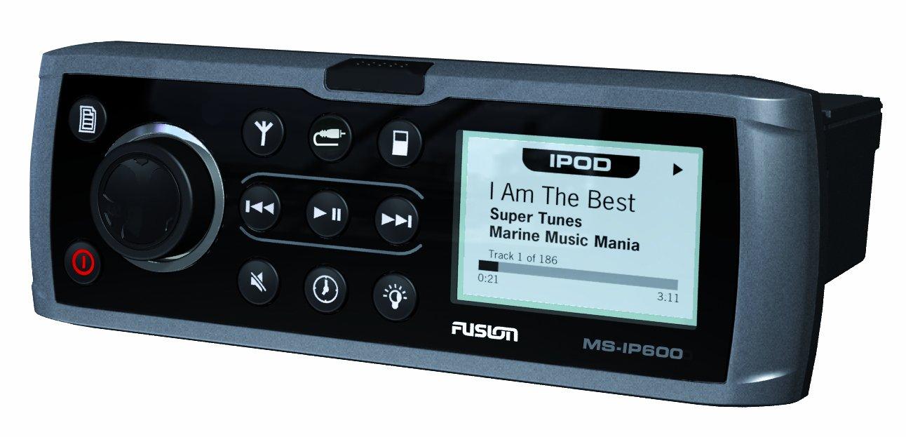 Amazon.com: Fusion MS-IP600G, iPOD Dock/AUX/AM/FM/ Marine Stereo ...