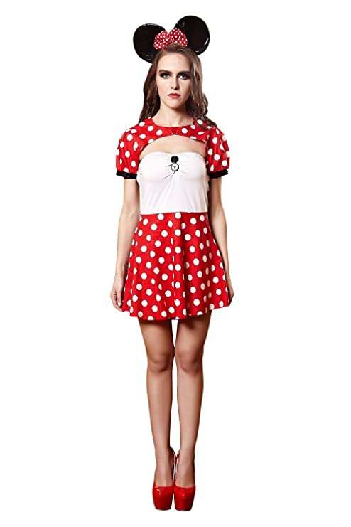 YIYIFSCartoon Mickey Mouse Outfit Disfraz Cosplay Nightclub EU930 ...