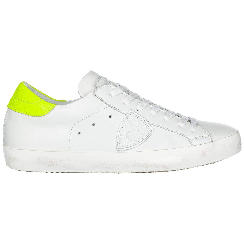Veau Neon white yellow PHILIPPE MODEL Men Paris Sneakers Veau neon white yellow
