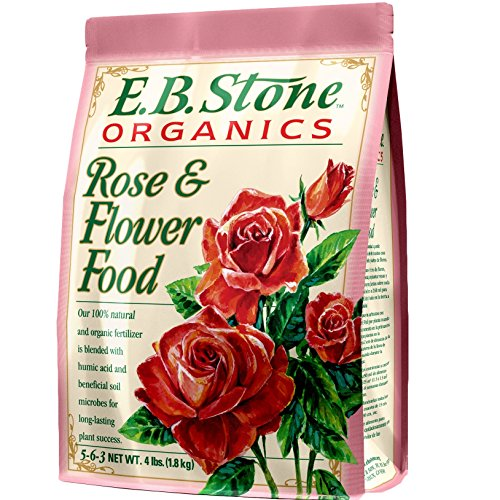 Eb Stone Organic Rose and Flower Food 15 lb. by EB Stone Organics