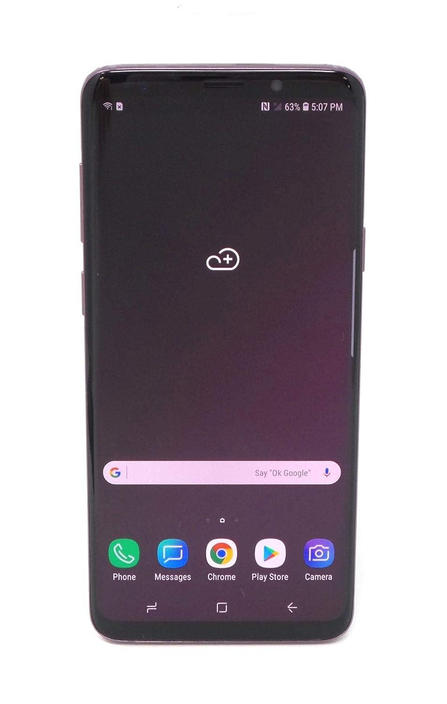 Samsung Galaxy S9  G9650 64GB Unlocked GSM 4G LTE Phone w/ Dual 12MP Camera - Lilac Purple (Renewed)