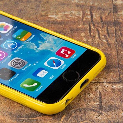 """MPERO FLEX S Series Protective Étui Coque Case for Apple iPhone 6 4.7"""" - Jaune"""