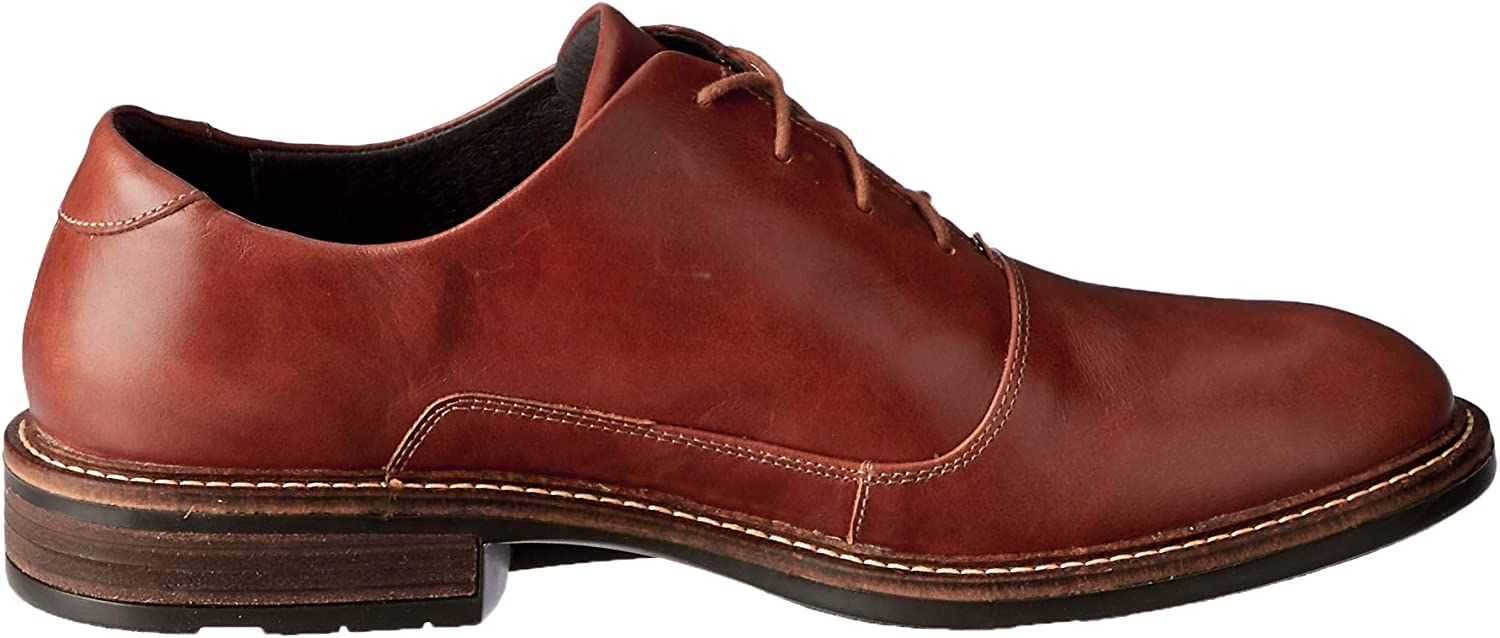 10-10.5 M Cork 43 M EU Leather NAOT Mens Audience Oxfords Brown Latex Suede