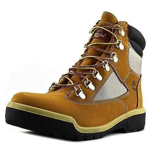 Timberland Botines Cordones Mostaza EU 42 (US 8.5): Amazon.es: Zapatos y complementos
