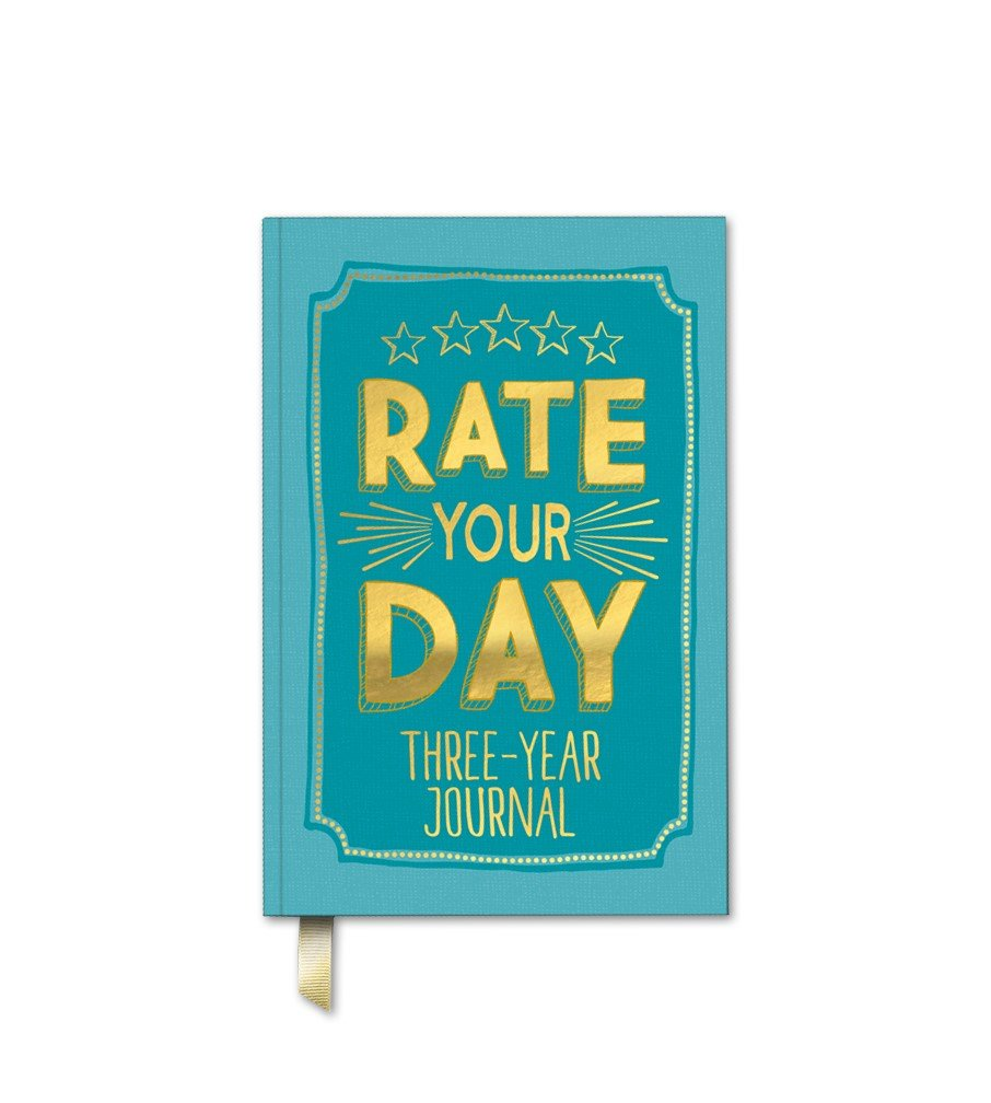 Amazon.com : Studio Oh! Guided Journal, Rate Your Day Three-Year ...