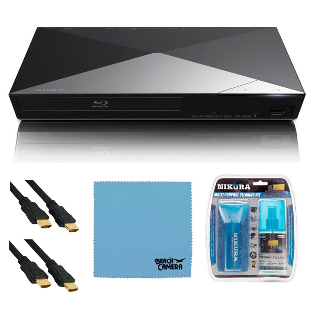 Sony BDP-S5200 3D Wi-Fi Blu-ray Disc Player HDMI Cable: Amazon.in ...