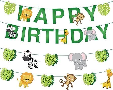 Amazon.com: Set de decoración de cumpleaños para árbol de ...