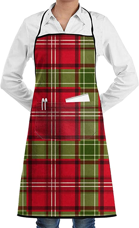 Apron Green-Red