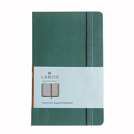 Amazon.com: Labons - Cuaderno de tapa dura de papel grueso ...