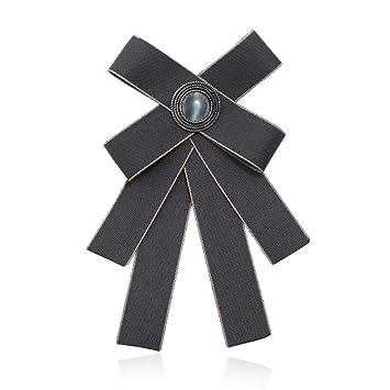 ZWLZQ Broches broche Corbata De Moño De Hombres Y Mujeres Collar ...