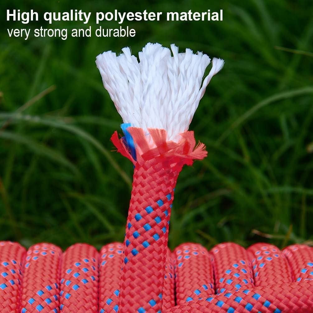 Diameter 10mm Outdoor Indoor Static Rope Heavy Duty Durable Rope Aoneky Magnet Fishing Rope 10 15 Meters