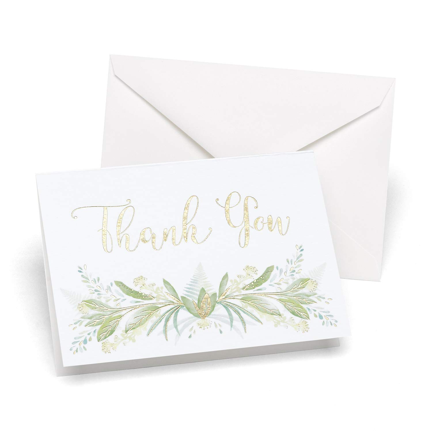 15pk Greenery Thank You-Thank You Notes