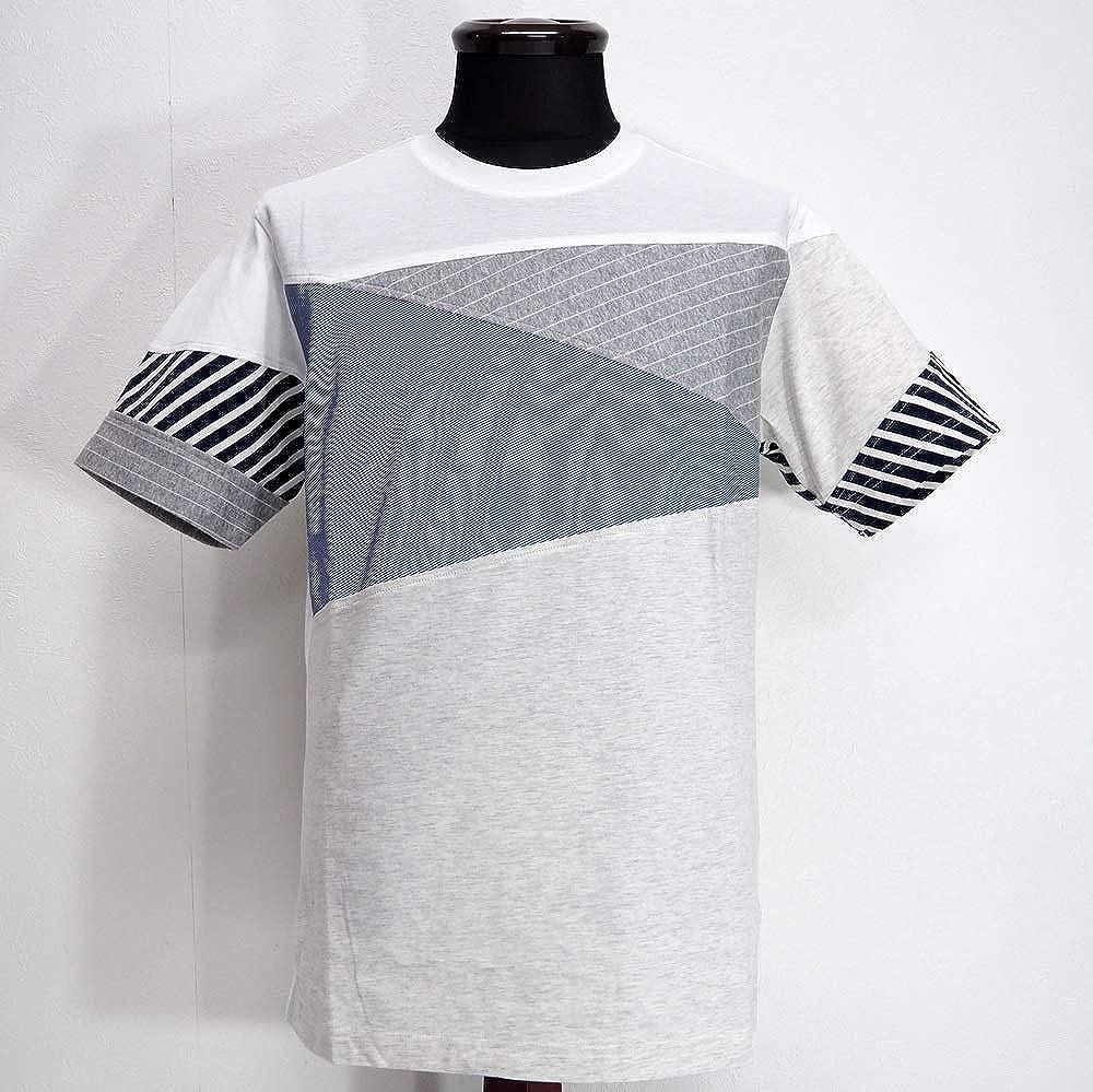 58150 Alcott hill アルコットヒル 日本製 クルーネック 丸首 Tシャツ 半袖 ホワイト 50(LL) サイズ 日本製 メンズ カジュアル 男性 春夏 ゴルフ 通販   B07QVQ68R1