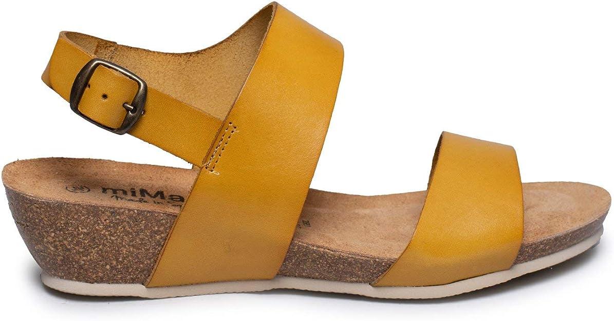 Zapatos miMaO. Zapatos Piel Mujer Hechos EN ESPAÑA. Sandalia Bio ...