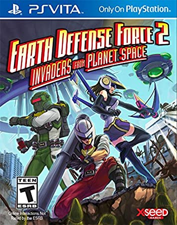 Earth Defense Force 2: Invaders from Planet Space - PlayStation Vita