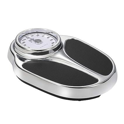 Básculas Digitales Báscula de pesaje mecánica Alta precisión Adulto Saludable Bajar de Peso Básculas de baño