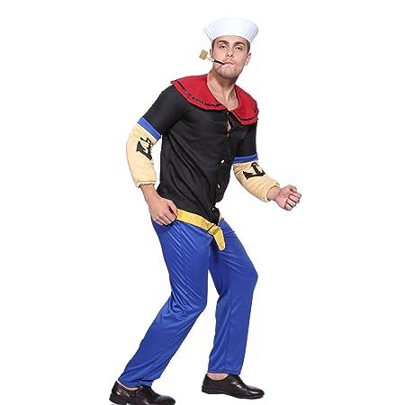 Disfraz de Popeye para hombre: Amazon.es: Juguetes y juegos