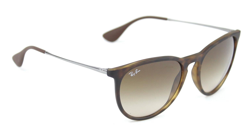 14155a590b2 Amazon.com  Ray-Ban RB4171 865 13 Erica Sunglasses Tortoise Frame   Brown  Gradient Lens  Clothing
