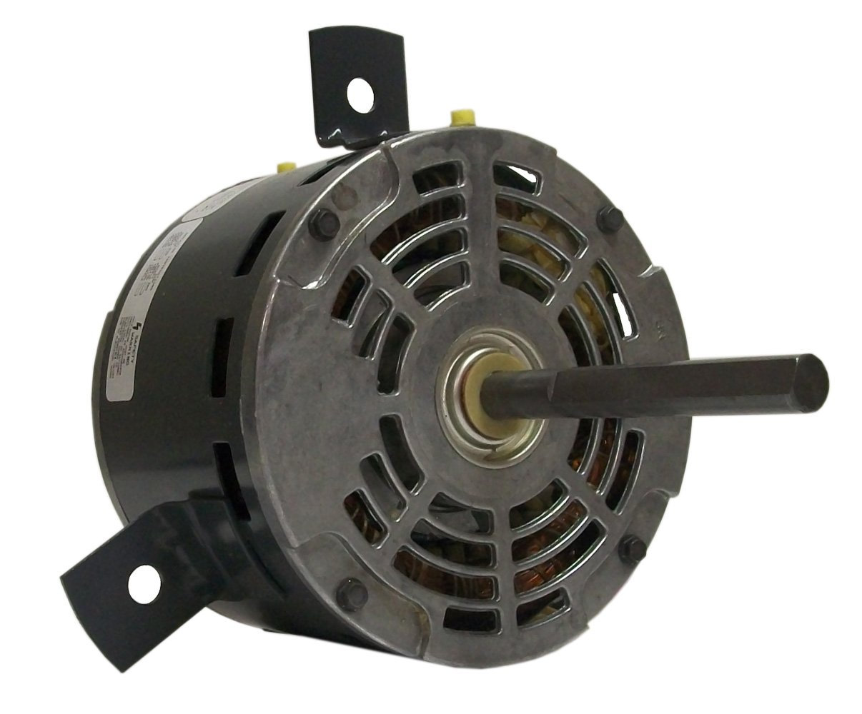 REV Rotation 1 Speed Sleeve Bearing Fasco D843 5.6-Inch Diameter PSC Motor 2.2-2 Amps 1//4-1//5 HP 1075 RPM 208-230 Volts