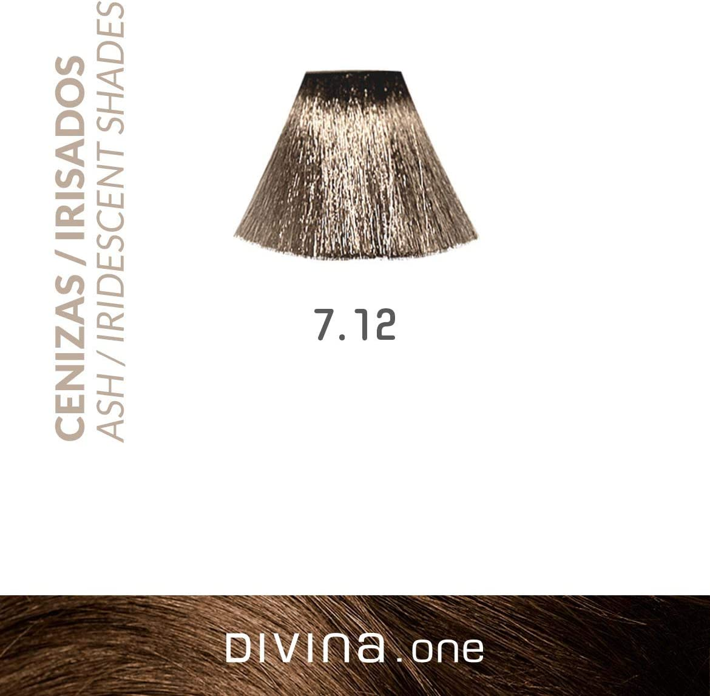 Eva Professional Hair Care Tinte Profesional Divina N.7.12 60 ...