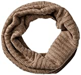 Phenix Cashmere Women's 100 Percent Cashmere Knit Neck Warmer, Dark Natural, One Size