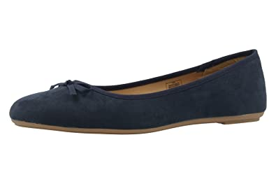 Fitters Footwear Bailarinas de Material Sintético Para Mujer Azul Azul, Color Azul, Talla EUR 45