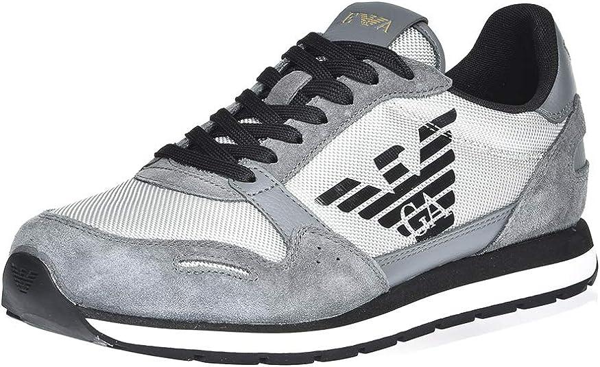 Emporio Armani Men's Trainers grey Grey