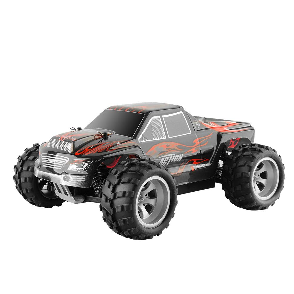 Libison Wltoys A979 RC Truck 2.4Ghz 1:18 High Speed Racing Car 4WD Off-Road Waterproof Vehicle Radio Remote Control Buggy for Kids and Adults