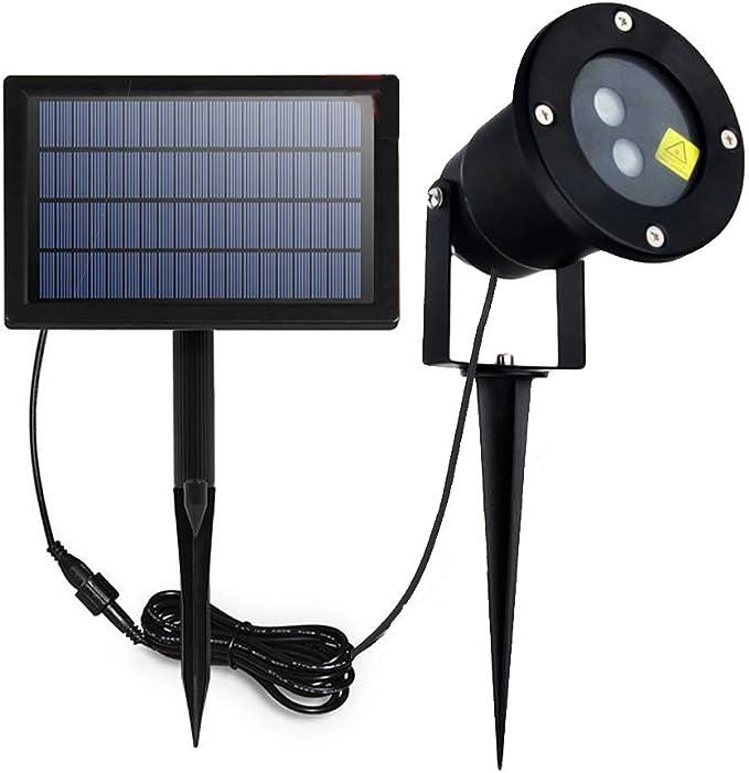 Amazon.com: Proyector LED Solar Luces al aire última ...