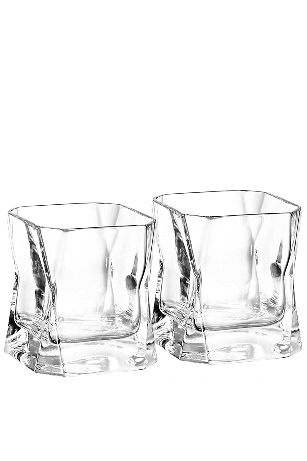 Cibi Double Blade Runner Whisky Glass (Twin Pack) 37cl 030101