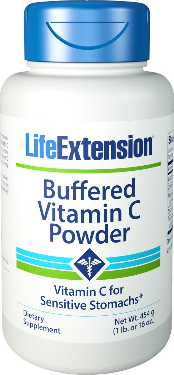 Life Extension - Buffered Vitamin C - 454.6 Gm (Pack of 2)
