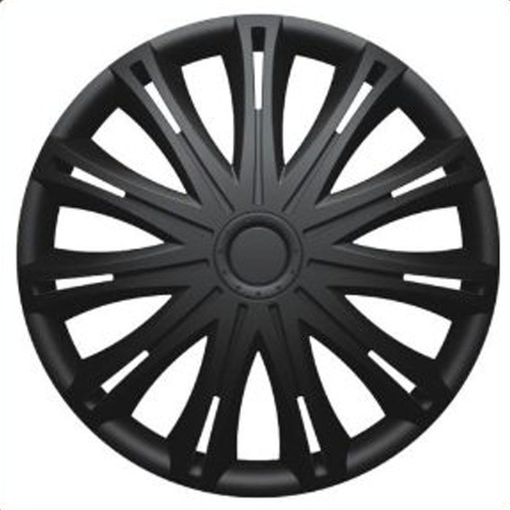 CITROEN BERLINGO MULTISPACE (2000-2008) 15 inch Black Car Alloy Wheel Trims Hub Caps Set of 4 versaco