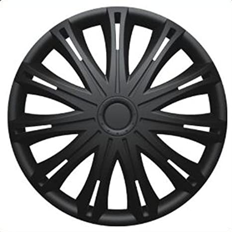 PEUGEOT PARTNER VAN (2008 on) 15 inch Black Car Alloy Wheel Trims Hub Caps Set of 4: Amazon.co.uk: Car & Motorbike