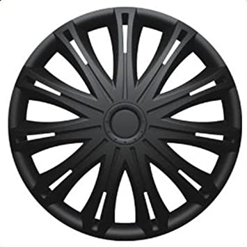 FORD FIESTA Mark 7 (2009 on) 15 inch Black Car Alloy Wheel Trims Hub