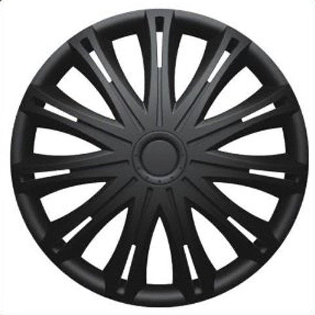 Versaco SEAT CORDOBA (1999-2002) 13 inch Black Car Alloy Wheel Trims Hub Caps Set of 4