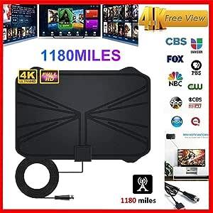 hinffinity TV Aeria 1180 millas 4K Digital HDTV 2019 nueva ...
