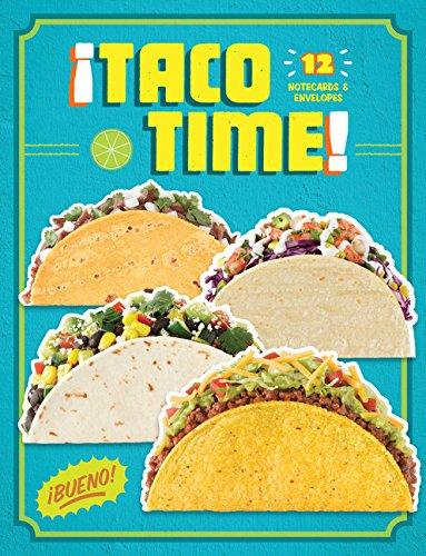 Taco Time: 12 Notecards & Envelopes