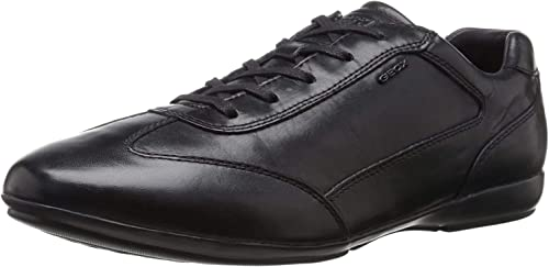 TALLA 39 EU. Geox U Efrem A, Zapatos de Cordones Oxford para Hombre