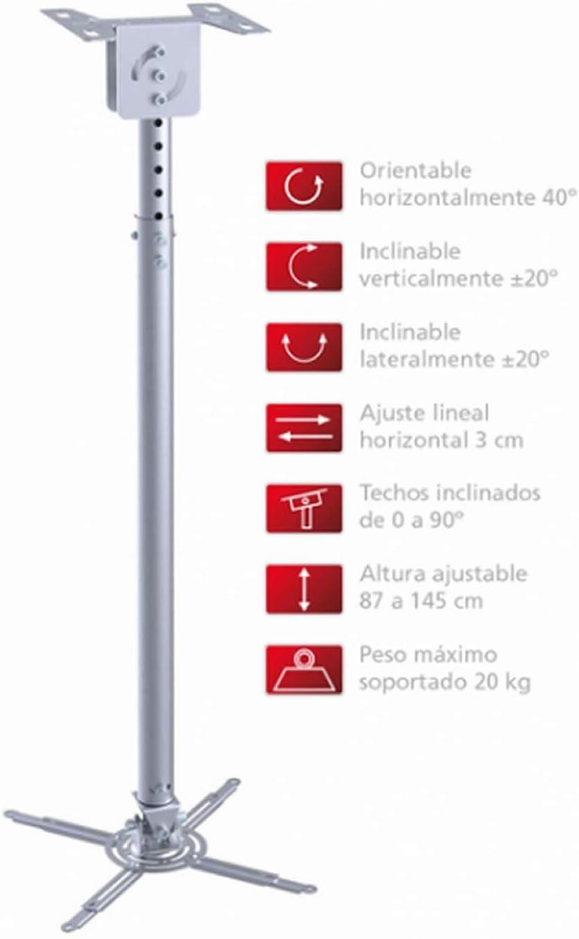 Fonestar - Soporte de techo extensible para proyector - orientable ...