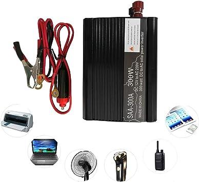 Vislone 300 W Auto Wechselrichter Solar Wechselrichter Dc 12 V Auf 230 V Modifiziert Sinuswellenkonverter Mit Dual Usb Schnittstelle Auto