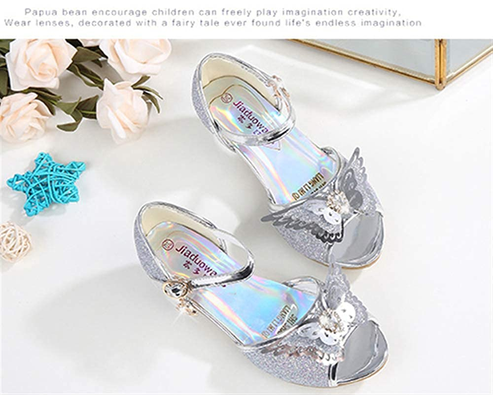 2019 Toddler Kids Girl Princess Wedding Party Dance Leather Shoes Walking Shoes