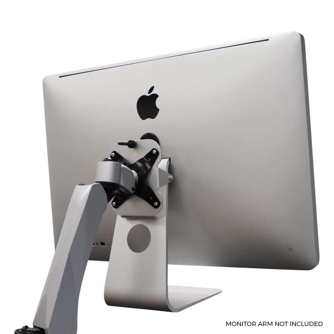 VESA Mounting Adapter Kit for All Apple iMacs with Non-Removable Stands | Late-2011 to Current Models | Patented - by HumanCentric by HumanCentric (Image #3)