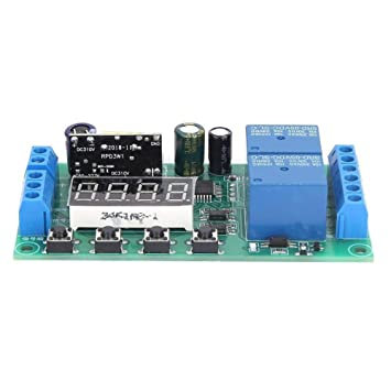 1s-5min 1s-5min Ajustable AC 220V M/ódulo de Interruptor de Retardo de Temporizador M/ódulo de Rel/é de Retraso de 1s-60s