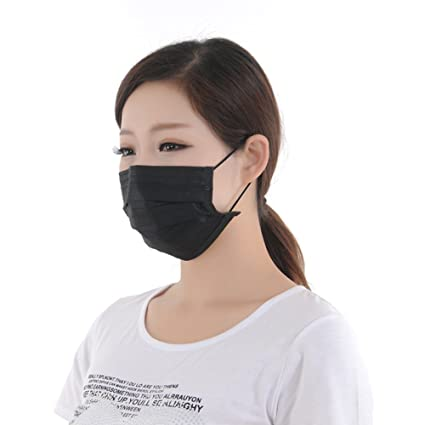 Dust Individual For Face Filter unisex 50pcs Breathability 4 Mouth Of And Package Layers Soft Protection With Cover 1box Earloop Disposable Mask