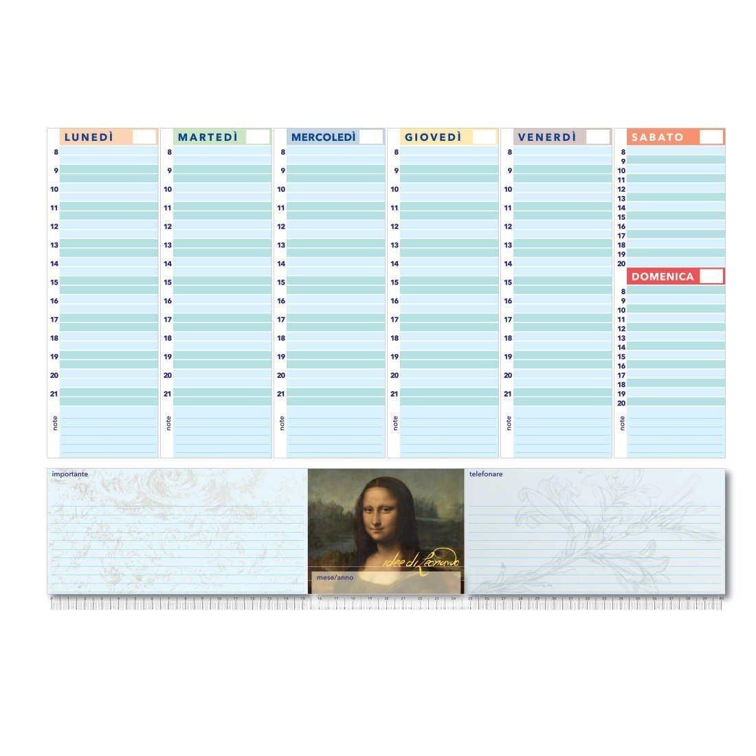True Colors - Monnalisa - Agenda/ planificador semanal de ...