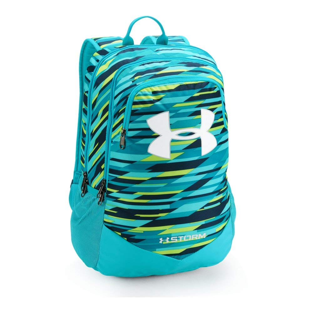 Under Armour Boy's Storm Scrimmage Backpack, Venetian Blue (448)/White, One Size